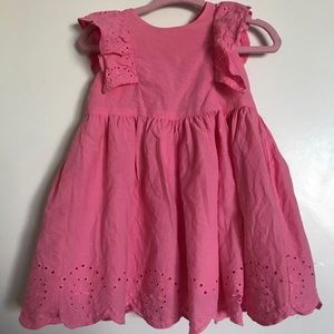 Carter's Flowy Pink Dress with diaper cover (6 mo)